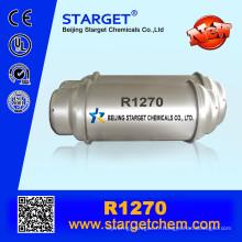 118 L de haute pureté 99,9% de gaz réfrigérant R1270