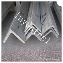 Barre d'angle AISI 304 en acier inoxydable