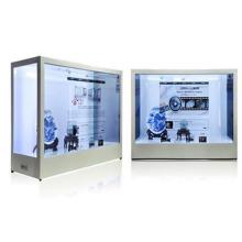 Venda quente x86 - toque transparente display lcd para publicidade