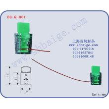 sceau du compteur en plastique BG-Q-001