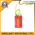 New Design PVC Luggage Tag Souvenir for Promotion (LT-4)