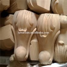 Möbelteile, die Holztischbein schnitzen