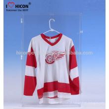 Merchandising exibe para caber seus produtos particulares Atacado Custom Acrílico Sports Shirts Jersey Display Case