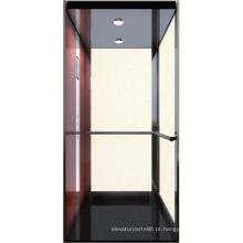 Pequena casa elevador, elevador de baixo custo, sem sala de máquina
