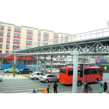 Portable Steel Structure Pedestrian Bridge