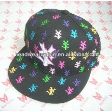 Bordado bebê snapback chapéus / fahion bebê snapback chapéus