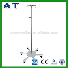 Stainless Steel Hospital IV Drip Stand