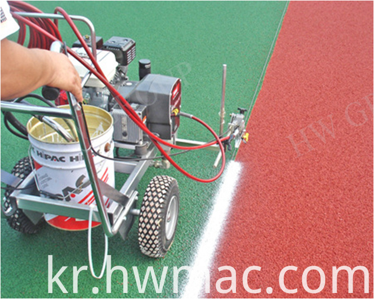 road painting machine