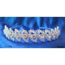 Neue Art und Weisegroßverkauf Rhinestone plain Baby Stirnbänder