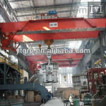 5~74T Type QDY Double Girder Casting Crane For Workshop
