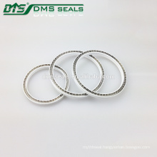 Single Acting Lower Pressure Virgin PTFE Spring Energized Seals