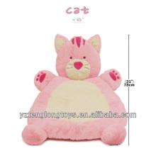 Милый животный коврик для младенца, супер мягкий дешевый плюшевый животный коврик для животных