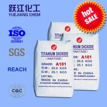 Excelentes propiedades ópticas Anatase Dióxido de titanio para cerámica y esmalte