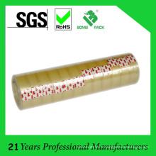 Ruban de papeterie jaunâtre de noyau en plastique