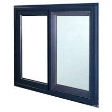 Fenêtre en verre coulissante horizontale d'aluminium de conception / aluminium d'alliage
