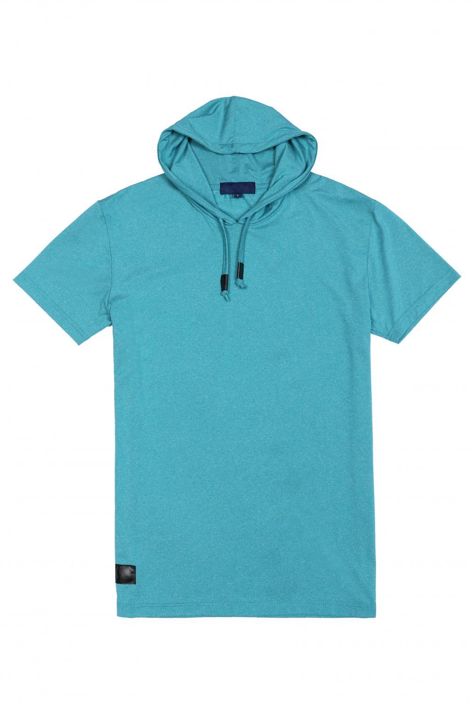 Men's knit hoodie