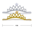 Elegant Diamond Cut Plastic Tiaras
