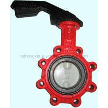 Internal Drive Lug Tipo Válvula de mariposa (RX-BF-TJ08)