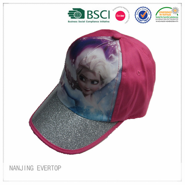 Hög Qualty frysta Print Kids Cap