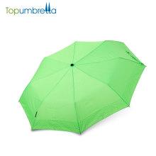 as importações chinesas vendem por atacado o melhor guarda-chuva de dobramento aberto manual