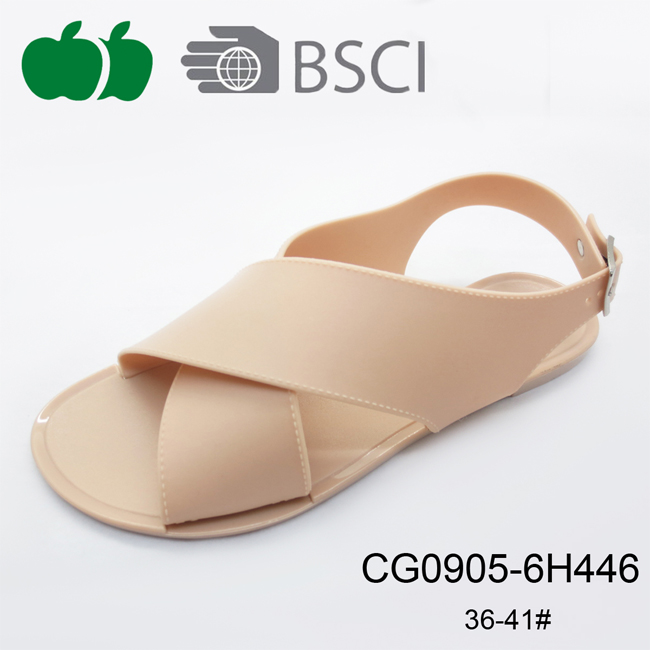 New Stylish Simple Fashion Flat Summer Ladies Sandals 2017