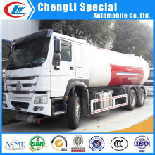 Heavy Duty 10 Wheel LPG Tank Transport Truck for Sale