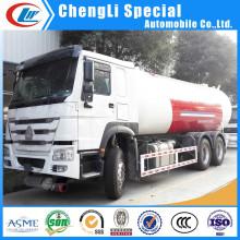 Caminhão de transporte de tanque de GLP de 10 rodas para venda