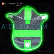 Led Glow Water Resistant Dog Raincoat