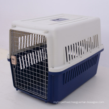 Aviation Flight Travel Plastic Dog Pet Carrier Cage Airline Approved