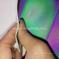 PU reflectante para zapatos cosidos