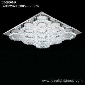 led ceiling lamps crystal stairs chandelier light