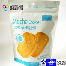 Aufstehen Snack Food Pouch mit Ziplock mit Handloch
