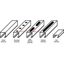 Matériaux métalliques de construction Steel Struct Channel Roll formant la machine de production Singpore