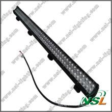 Barre lumineuse du CREE LED de 50inch 288W, barre imperméable d'Alut, barre lumineuse de 4X4 LED, logement en aluminium imperméable outre de la barre lumineuse de route de LED