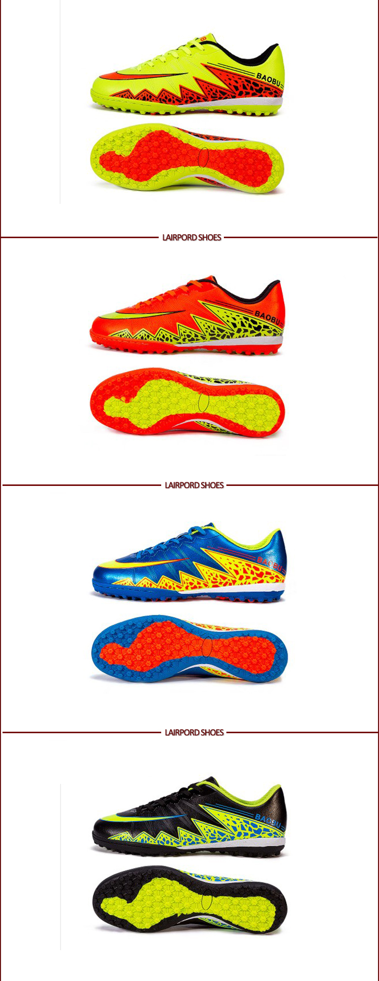 many kinds colours sports shoes