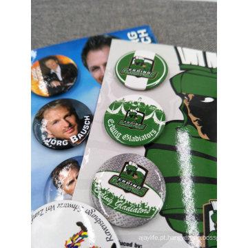 Wholesale Promocional Emblema Do Botão Da Lata