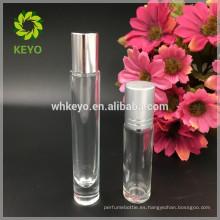 botella de aceite esencial de la botella de la bola del rodillo de la alta calidad 10ml para la botella de aceite cosmética