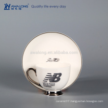 Name Customized Logo Printing Porcelain Cup, Coffee Tea Cup For Wholesale