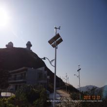 Vent solaire stationnement lumière, lampe de stationnement solaire vent