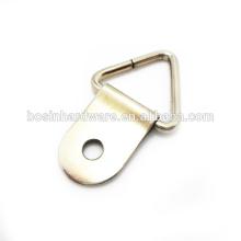 Art- und Weisequalitäts-Metalldreieck-Ring mit Foto-Rahmen-Haken
