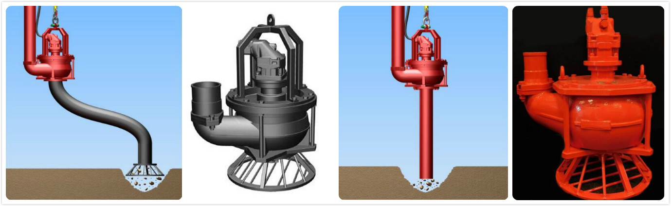 Submersible Dredging pumpa