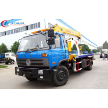 2019 New DFAC Road Wrecker Truck Mounted Crane