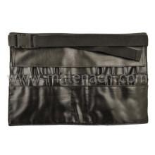 Faux Leder Taille Tasche für Make-up Pinsel