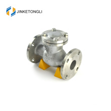 JKTLPC080 low pressure stainless steel flanged simple check valve