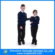 Alta Qualidade Moda Custom Beautiful International School Uniformes