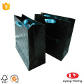 Spot UV paper gift bag for jewelry shopping