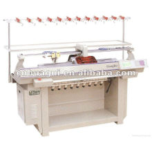 computer flat knitting machine