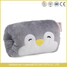 Plush Penguin Animal Pillow Peluche Suave Calentador de Manos