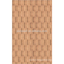 Bamboo Style Design Embossed Hardboard with E1 glue