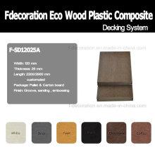 Hochfeste WPC Composite-Outdoor-Deck